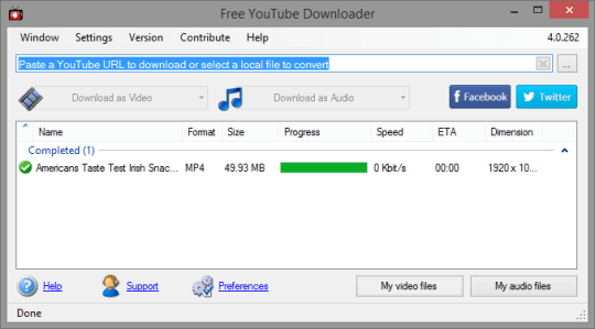 Free YouTube Download Premium 4.3 Serial Key