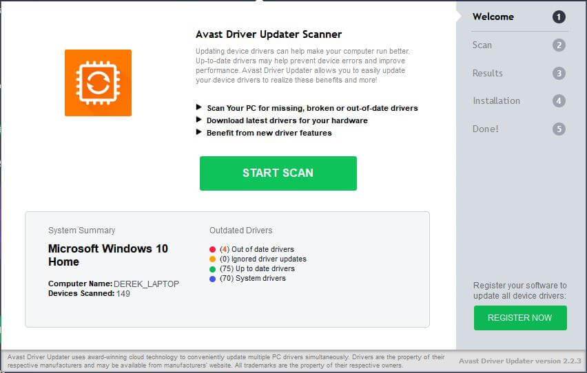 Avast Driver Updater Premium 2.5.6 Licence Key