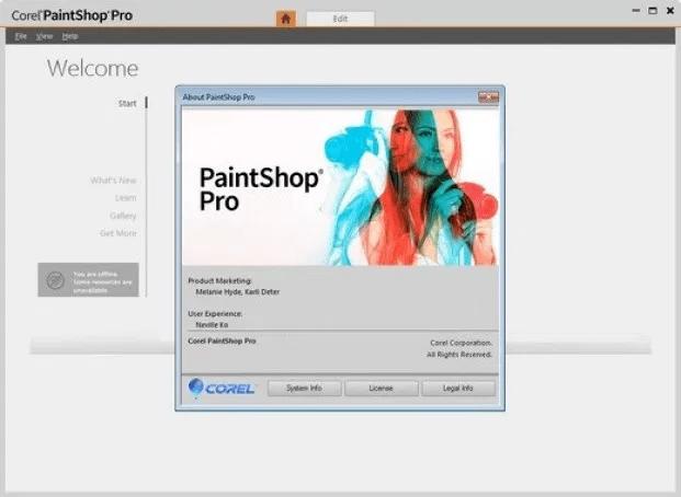 Corel PaintShop Pro Ultimate v22.0 Registration Key