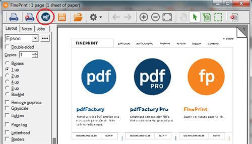 FinePrint PDF Factory Pro 7.23 With Cracked patch