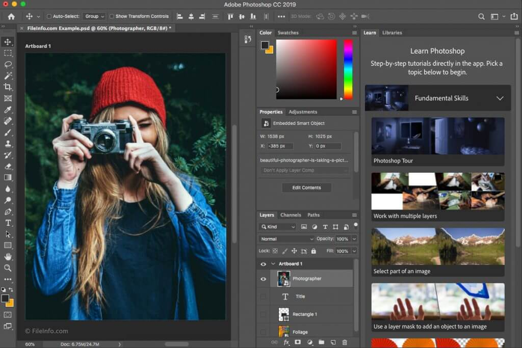 Adobe Photoshop CC 2019 v20 With Registration Code