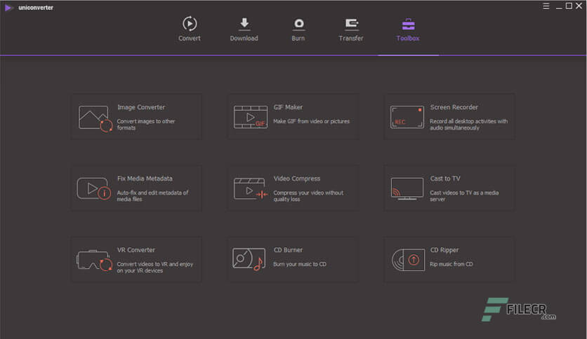 Wondershare UniConverter 11.7.5 With Serial Key