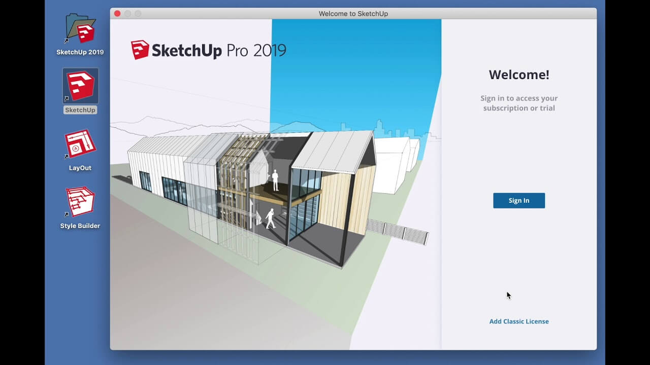SketchUp Pro 2019 v19.3 With Activation Key