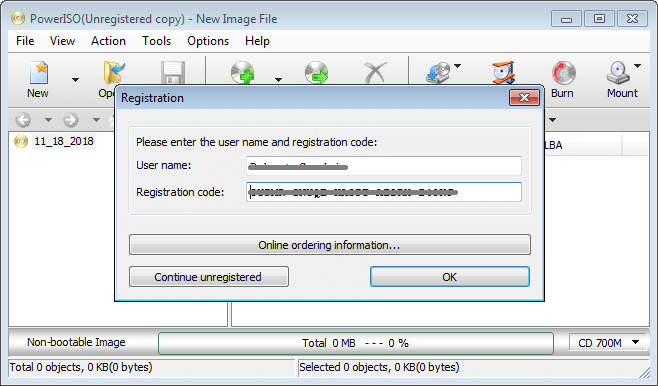 PowerISO 7.6 With Registration Code