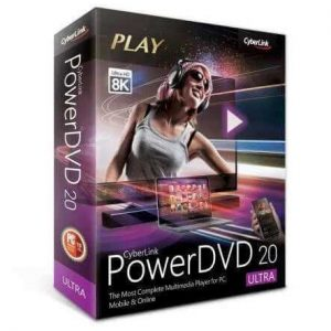 Cyberlink PowerDVD Ultra 20 With Cracked Keygen