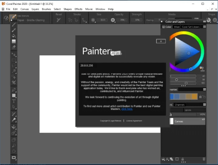 Corel Painter 2020 v20.0 With Licence Key