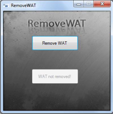 RemoveWAT v2.2.9 Cracked Keygen