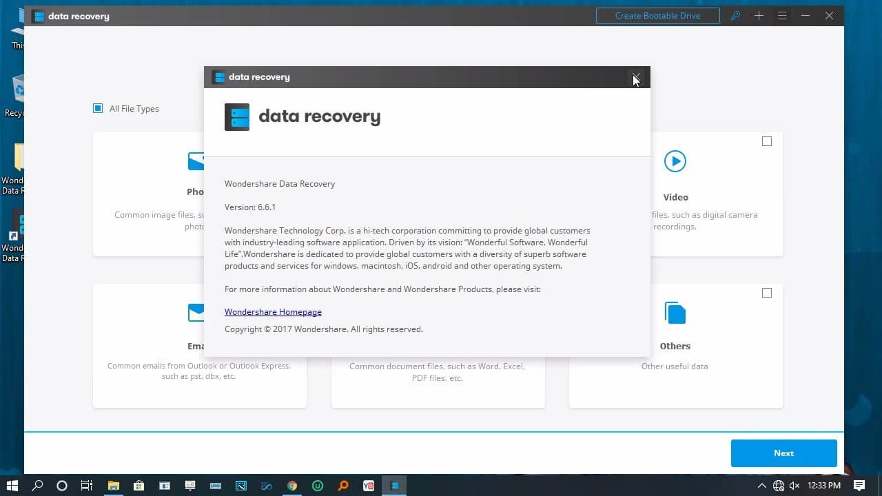 Wondershare Data Recovery 6.6.1 With Cracked Keygen