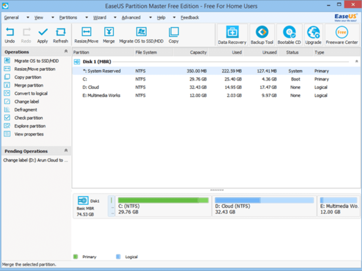 EaseUS Partition Master 14.0 With Serial Key