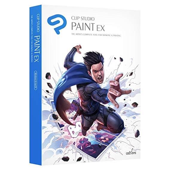 Clip Studio Paint EX Crack Keygen 2021